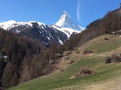 Countryside 30 minutes from Zermatt railway station