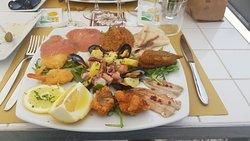 Ottima cena di pesce fresco