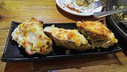 自家製金黃醬燒廣島蠔($88/3)