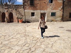 Rossana a passeggio in Medinaceli