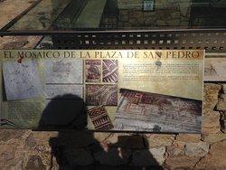 il mosaico della piazza di san Pietro