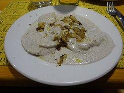 Ravioli crème de truffe