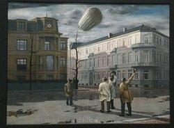 Carel Willink: De zeppelin (1933)