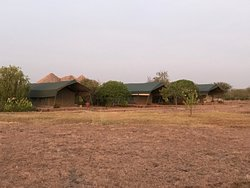 Our favourite- the tented rooms!