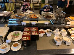 Club Lounge Breakfast - Japanese selections