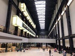 Tate Modern lobby, very impressive space.