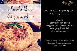 Variedad de tortilla española