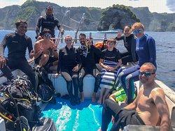 Scuba diving in Nusa Penida