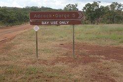 The sign from Gibb River Road