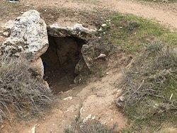 Alrededores del balneario de Alicun de las Torres   Tumba neolitica acueducto y vistas de los alrededores