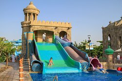 The Flying carpet at Pearls Kingdom Water park