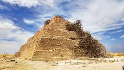 The Step Pyramid of King Djoser in Saqqara