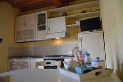 cucina appartamento bifocale