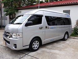 New van 12 seats ready to service.