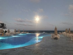 Adults only infinity pool.