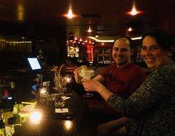 Cozy, elegant atmosphere, amazing cocktails!!