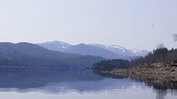Loch Affric canoe trip