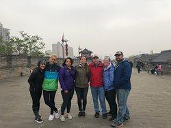 Xian city walls