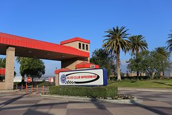 Entrance to Auto Club Speedway