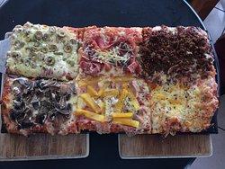 6 flavours, 1 Pizza