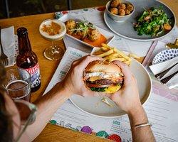 Not a Beef Burger - specials menu