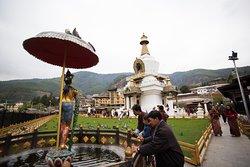 National Memorial Chorten – one of Bhutan's most prominent buildings