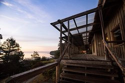 Hollyhock, Cortes Island - Spend your evenings embracing the sunsets from the deck or the beach