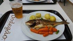 Peixe c/ Legumes