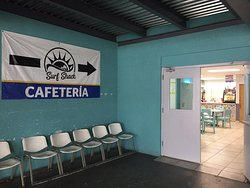 Here are some pictures of the cafeteria in the area outside of the waiting area for the ferry and a picture of the ATM and breastfeeding room there. Please read and like my review for more information! Here are pictures of one of the two private parking areas available. This one is pretty far (10-15 min walking) from the ferry and they offer transportation to and from the terminal to the parking area.