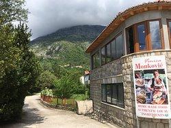 Excellent Croatian food
