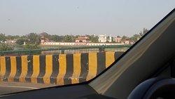 A glimpse of Babby Taj ( It-mad-ud-daula) across the river yamuna
