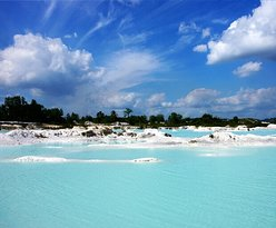 Danau biru bangka