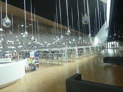 La bibliothèque!