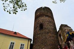 pohled na věž