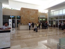 Lobby and check in area