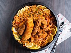 Fried Oriental Paella (1 person / 2 person / 3persons) @ 80 / 125 / 160