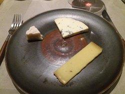 la fameuse assiete de fromage !!!!