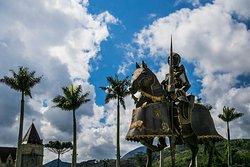 Praça do Cavaleiro Medieval  Foto: Bruno Wanderley