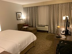 Comfy room and friendly staff