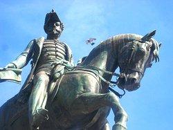 Sculpture to Dom Pedro IV