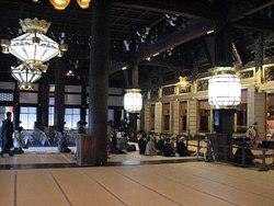 Inside Amidado (Hall of Amida Buddha)