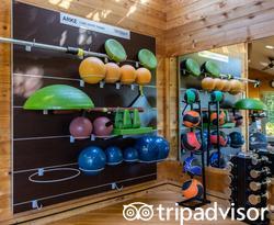 Fitness Center at the Ventana Big Sur, an Alila Resort