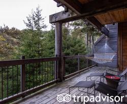 The Big Sur Forest Shower Suite at the Ventana Big Sur, an Alila Resort