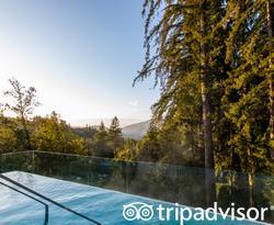 The Infinity Pool at the Ventana Big Sur, an Alila Resort