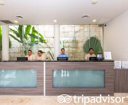 Front Desk at The Fives Beach Hotel & Residences