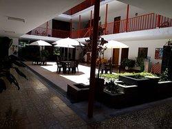 Nuestra Plazoleta Central, un agradable sitio para que disfrutes un delicioso café orgánico