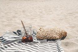Magisk beach-stämning
