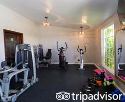 Fitness Center at the Sea Breeze Beach House