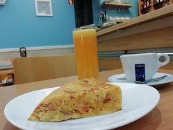 Tortilla + Coffee + Orange Juice