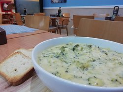 Brocolli Cheesy Soup